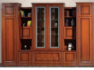 Гостиная стенка Соломея 2 - Мебельная фабрика «Кубань-мебель»