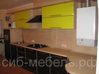 Кухня прямая 4 - Мебельная фабрика «Сиб-Мебель»
