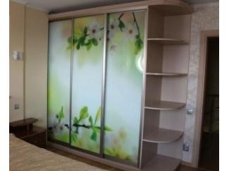 Шкаф-купе с фотопечатью   - Мебельная фабрика «Прага Мебель»