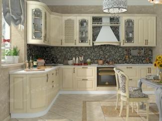 Кухня угловая «Gold Леон» - Мебельная фабрика «Ладос-мебель»