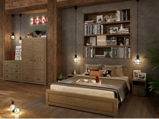 Спальня Лофт Темпо  - Мебельная фабрика «Домашняя мебель»