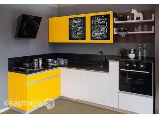 Кухонный гарнитур угловой Сола  - Мебельная фабрика «Камеа (Квартира 48)»
