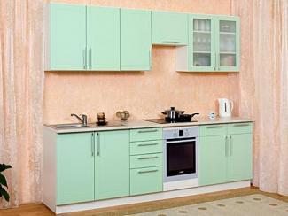 Кухонный гарнитур прямой Лаванда  - Мебельная фабрика «Мебель плюс»