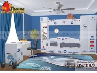 Детская Морская 1 - Мебельная фабрика «Галина»