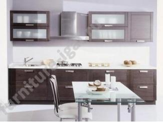 Новая кухня в коричневом цвете  - Изготовление мебели на заказ «Игал»