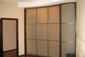 Шкаф купе радиусный - Мебельная фабрика «HOLZ»