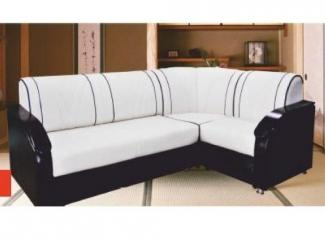 Черно-белый диван Влада 14