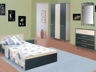 спальный гарнитур Модерн набор 1 - Мебельная фабрика «Долес»
