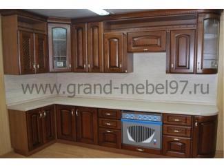 Кухня массив 06 - Мебельная фабрика «Гранд Мебель»
