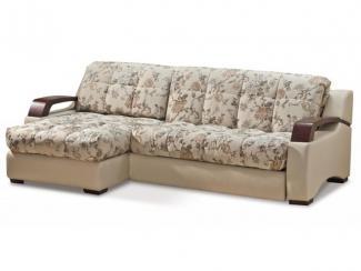 Диван Билли с маленькой оттоманкой - Мебельная фабрика «Аллегро-Классика»