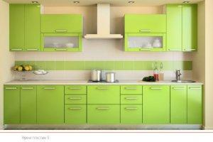 Кухня пластик 5 - Мебельная фабрика «ПластДекор»