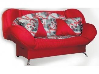 Красный Клик-Кляк диван Финка  - Мебельная фабрика «Вега»