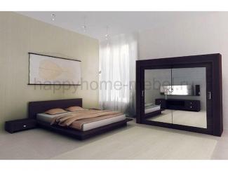 Спальный гарнитур Тануки 2 - Мебельная фабрика «Happy home»