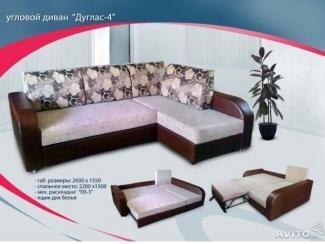 Мягкий диван Дуглас-4