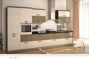 Кухня ЛДСП 2 - Мебельная фабрика «ПластДекор» г. Кузнецк