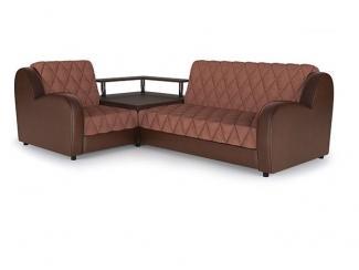 Угловой диван Марсель с ромбовидной утяжкой