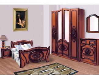 спальня Азалия 1 набор 3 - Мебельная фабрика «Долес»