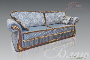 Диван Благо 3 для зала - Мебельная фабрика «Kiss», г. Ульяновск