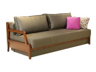 Диван-кровать с деревянными подлокотниками Невада - Мебельная фабрика «Авангард»