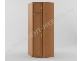 Шкаф угловой с антресолью - Мебельная фабрика «Континент-мебель»