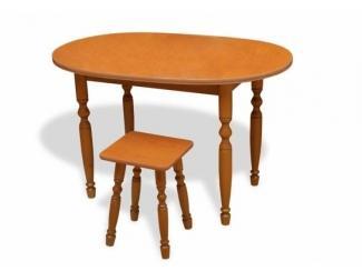 Стол Овальный фигурные ноги - Мебельная фабрика «Александрия»
