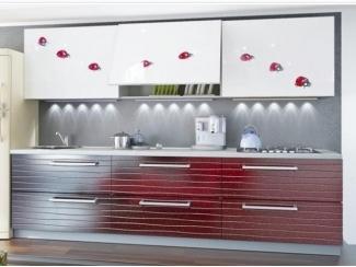 Прямая кухня Забава с фотопечатью - Мебельная фабрика «Манго»