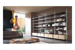 Стеллаж в гостиную - Мебельная фабрика «Командор»
