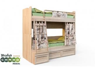 Кровать Шервуд КШ 2-1 - Мебельная фабрика «Сканд-Мебель»