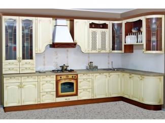 Кухонный гарнитур угловой Флоренция - Мебельная фабрика «Ульяновскмебель (Эвита)»