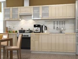Кухня прямая Сити композиция 3 - Мебельная фабрика «Горизонт»