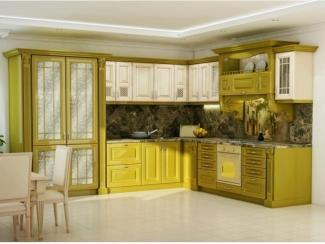 Угловая кухня Версаль Олива - Мебельная фабрика «Гармония мебель»