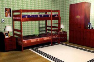 Детская Двухъярусная кровать 2 - Мебельная фабрика «Верба-Мебель»