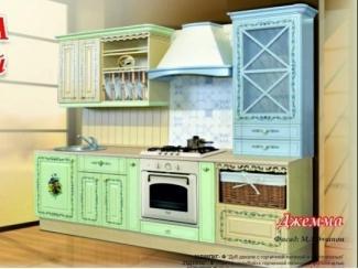 Утонченная прямая кухня Джемма  - Мебельная фабрика «Ульяновскмебель (Эвита)»