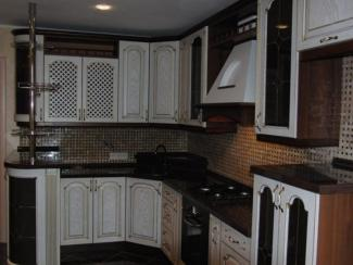 Кухня Art Deko массив - Мебельная фабрика «Илья-Сейф (Добрые кухни)»