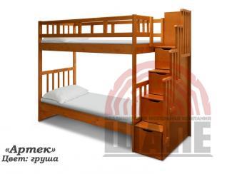 Детская двухъярусная кровать Артек - Мебельная фабрика «ВМК-Шале»