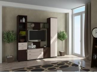Современная модульная стенка РИТМ - Мебельная фабрика «Баронс»