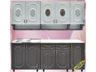 Кухня прямая 60 - Мебельная фабрика «Трио мебель»