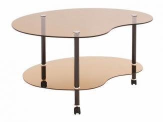 Стол журнальный Капелька - Мебельная фабрика «Мебель из стекла»