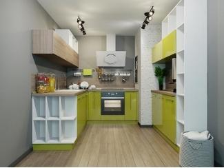 Кухонный гарнитур для маленькой кухни Оливия Small - Мебельная фабрика «Cucina»