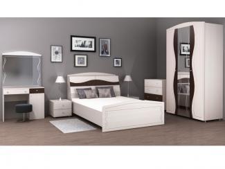 Спальня Амулет 2 - Мебельная фабрика «Бурэ»