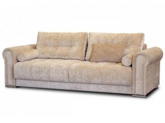 Бежевый прямой диван Ричезо  - Мебельная фабрика «Могилёвмебель», г. - не указан -