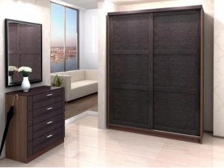 Темный шкаф-купе Форли  - Мебельная фабрика «Бурэ»