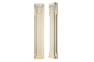 Декор Пилястра 2 - Оптовый поставщик комплектующих «Фабрика фасадов Пастернак»