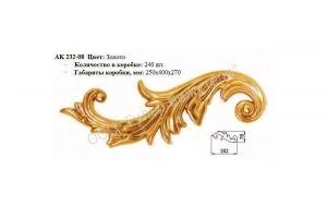 Декоративная накладка АК232-08 - Оптовый поставщик комплектующих «ГУЛЕР БИЖУТЕРИ»