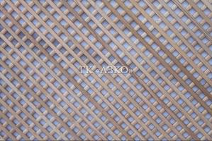 Декоративная решетка бук ячейка 10х10 мм 2000х500х7 - Оптовый поставщик комплектующих «АЗКО»
