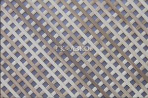 Декоративная решетка бук ячейка 15х15 мм 2000х500х10 - Оптовый поставщик комплектующих «АЗКО»