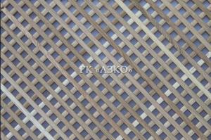 Декоративная решетка дуб ячейка 15х15 мм 2000х900х10 - Оптовый поставщик комплектующих «АЗКО»