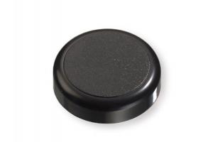 Декоративная заглушка круглая черная - Оптовый поставщик комплектующих «СЛОРОС»
