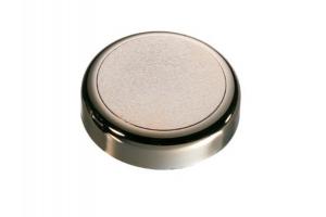 Декоративная заглушка круглая матовое золото - Оптовый поставщик комплектующих «СЛОРОС»
