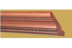 Декоративный элемент Premium Карниз верхний прямой с косичкой ПК-2 - Оптовый поставщик комплектующих «Версаль»